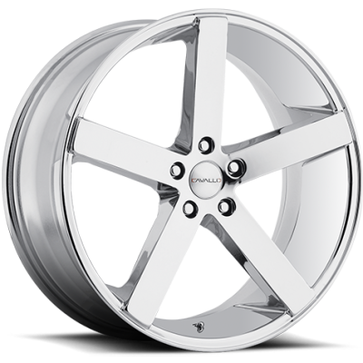 Cavallo CLV-05 Chrome Wheels