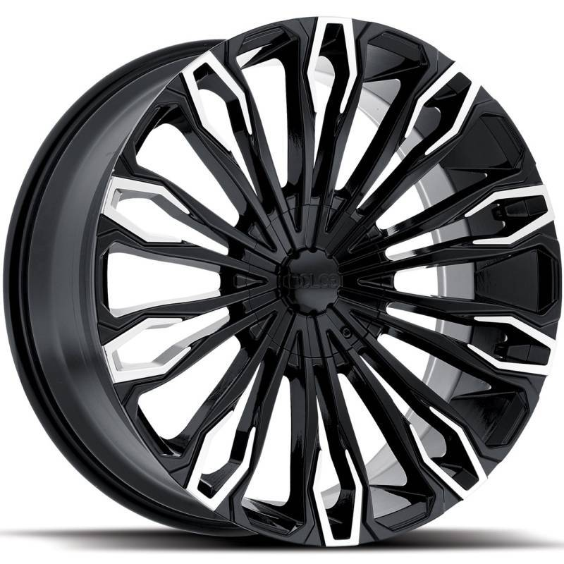 Dolce DC36 Gloss Black with Machined Tips