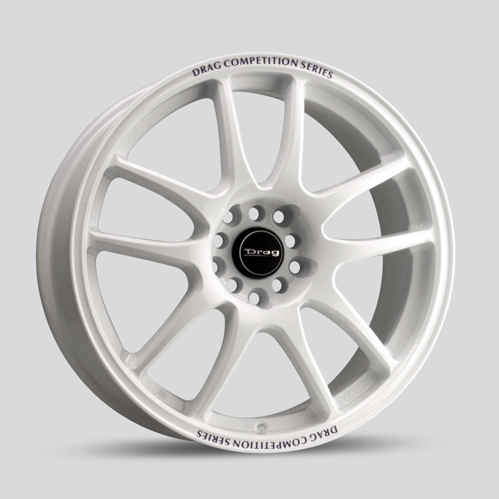 Drag DR31 White Wheels