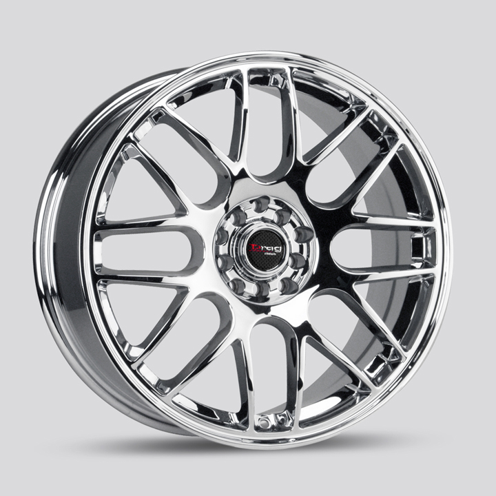 Drag DR34 Chrome Wheels