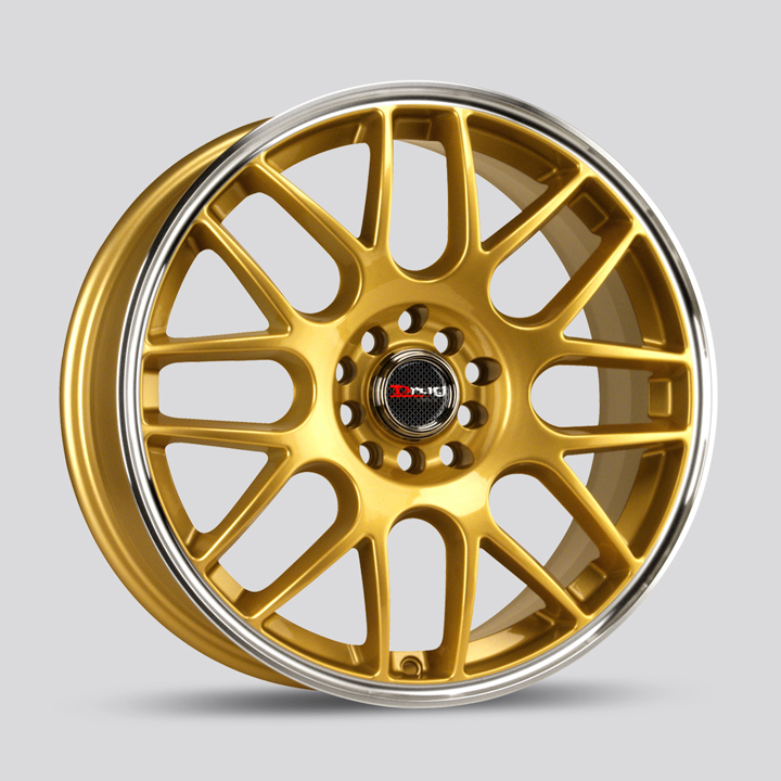 Drag DR34 Gold Wheels