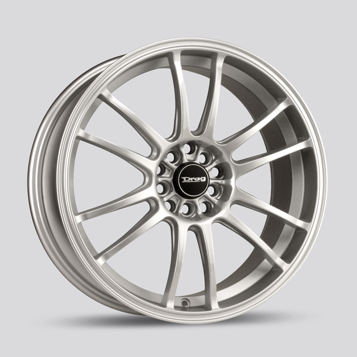 Drag DR38 Silver Wheels