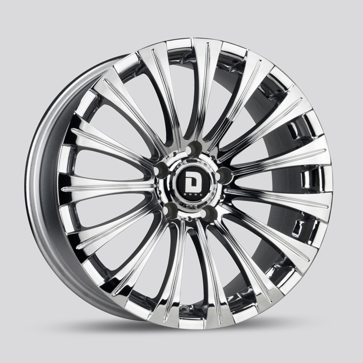 Drag DR43 Chrome Wheels
