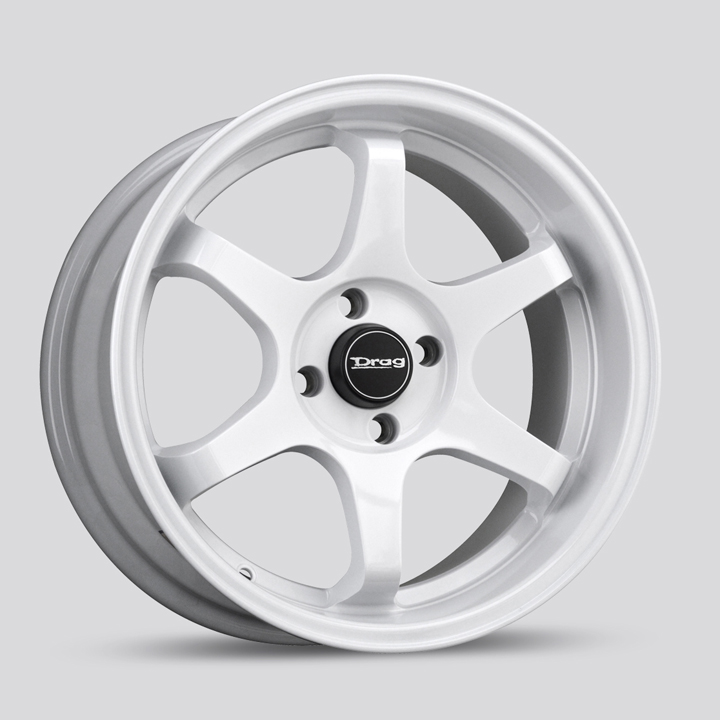 Drag DR53 White Wheels