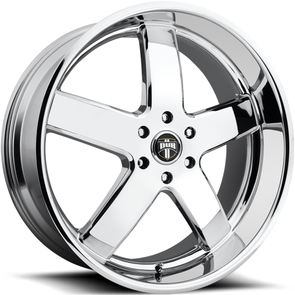 DUB Big Baller Chrome Wheels
