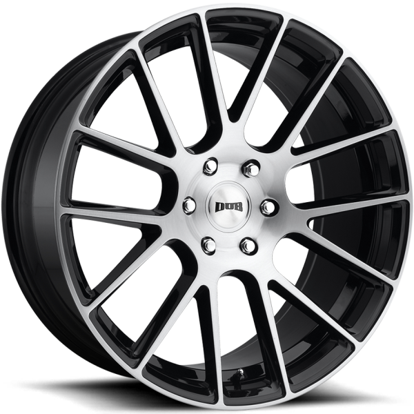 DUB Luxe Brushed Face Gloss Black