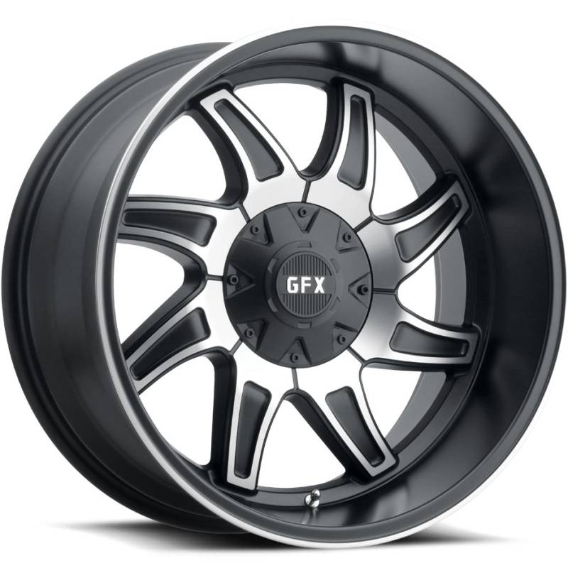 GFX TR15 Machine Black Wheels