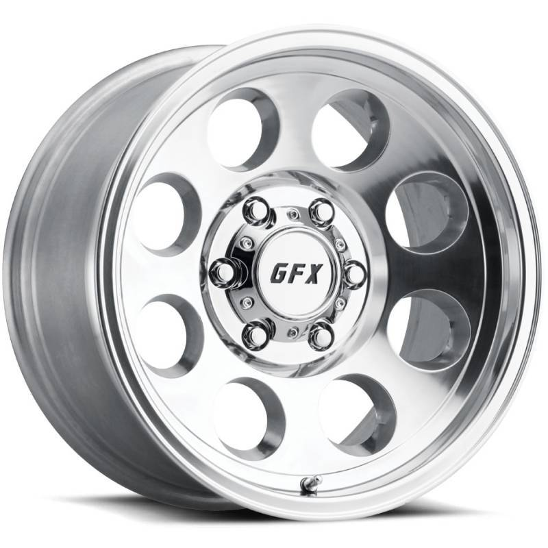 GFX TR16 Polished Wheels