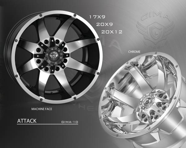 Gima -10 Attack Wheels