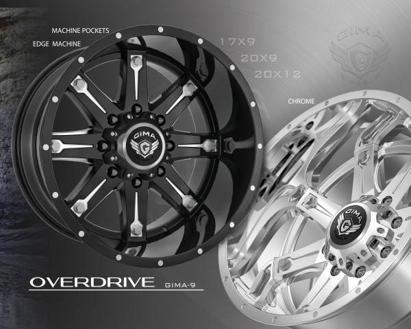 Gima -9 Overdrive Wheels