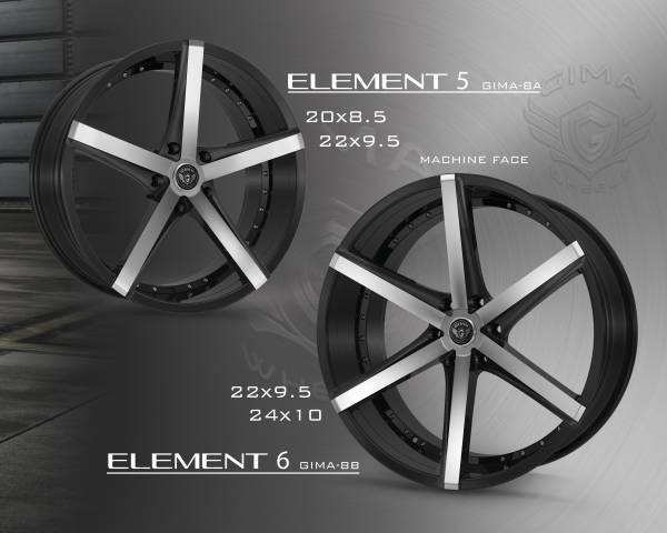 Gima Element Wheels