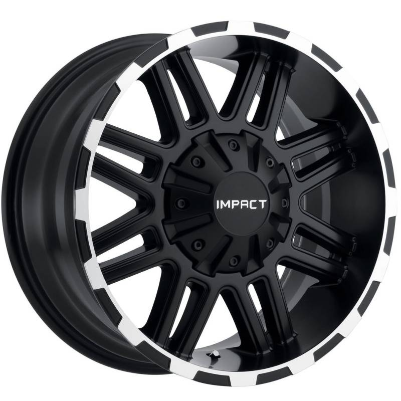 Impact Off-Road Interceptor Black Machined