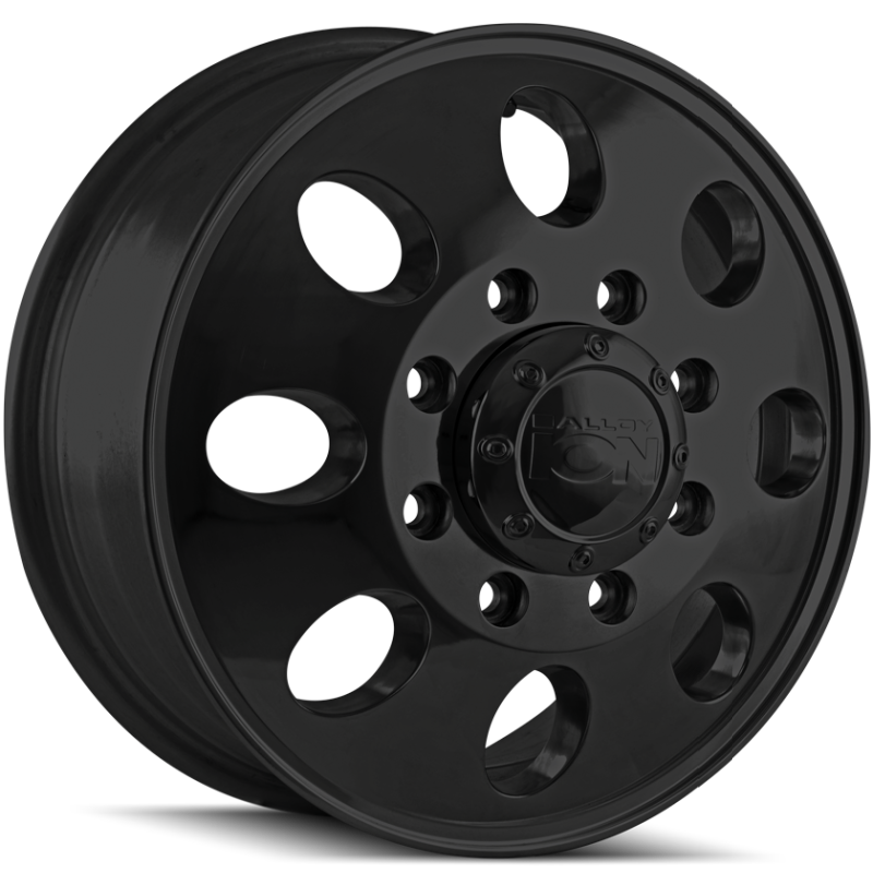 Ion Wheels 167 Satin Black Front Dually