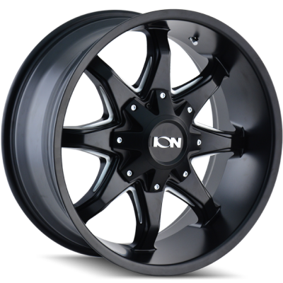 Ion Wheels 181 Black Milled