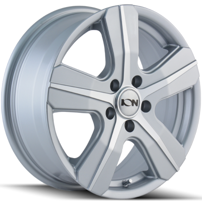 Ion Wheels 101 Silver Machined