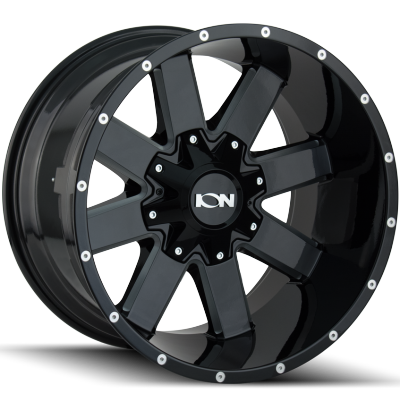 Ion Wheels 141 Black Milled