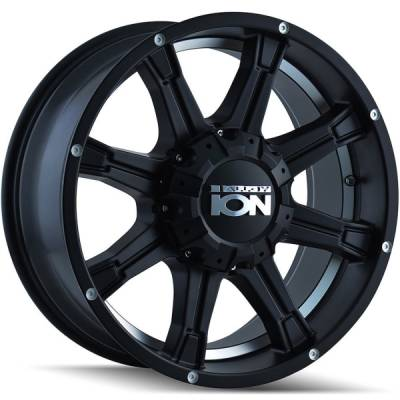 Ion Wheels 196 Matte Black