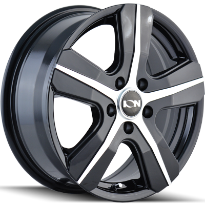 Ion Wheels 101 Black Machined