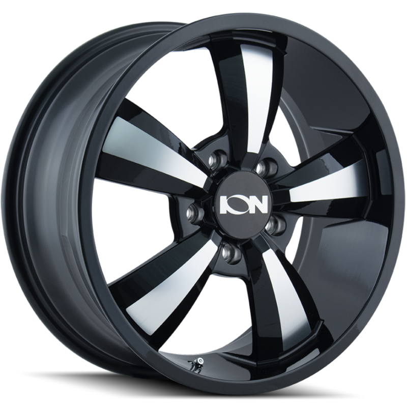 Ion Wheels 102 Black Machined