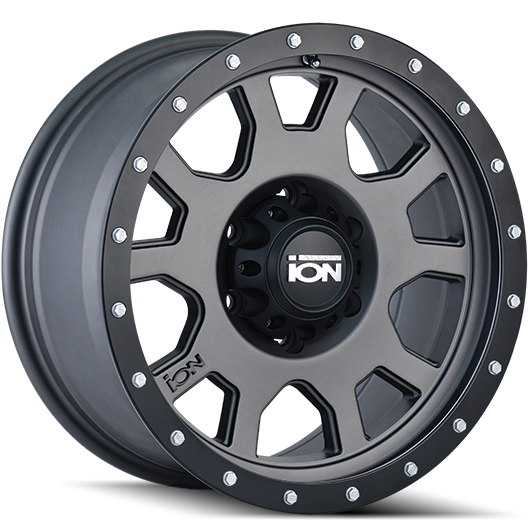 Ion Wheels 135 Matte Gunmetal