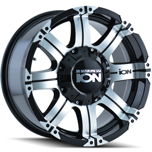 Ion Wheels 187 Black Machined