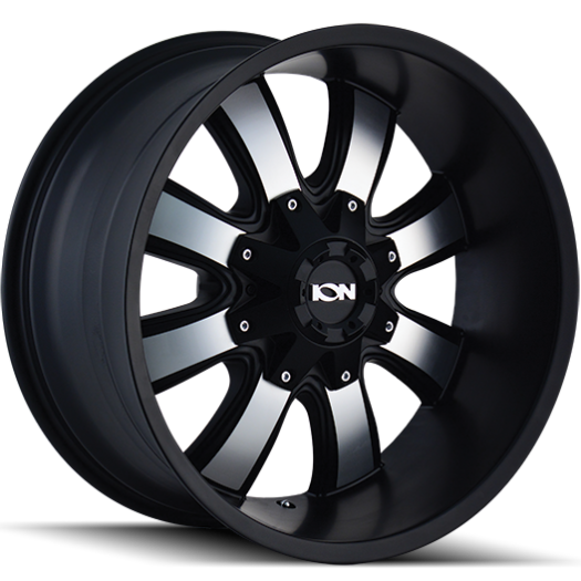 Ion Wheels 189 Matte Black Machined