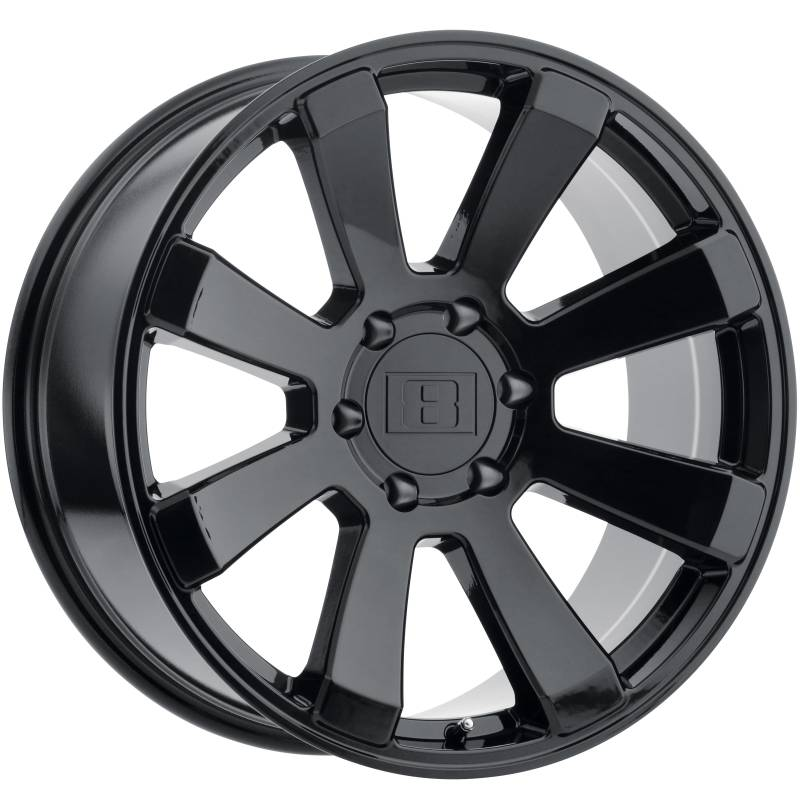 Level 8 Motorsports Enforcer Gloss Black Wheels