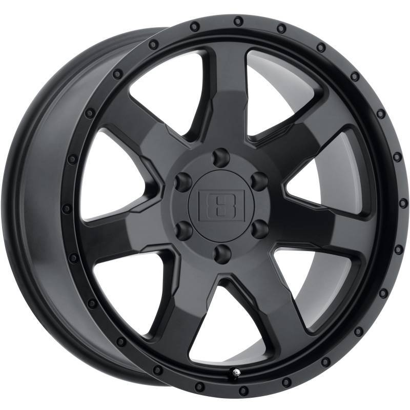 Level 8 Motorsports Slam Black Wheels