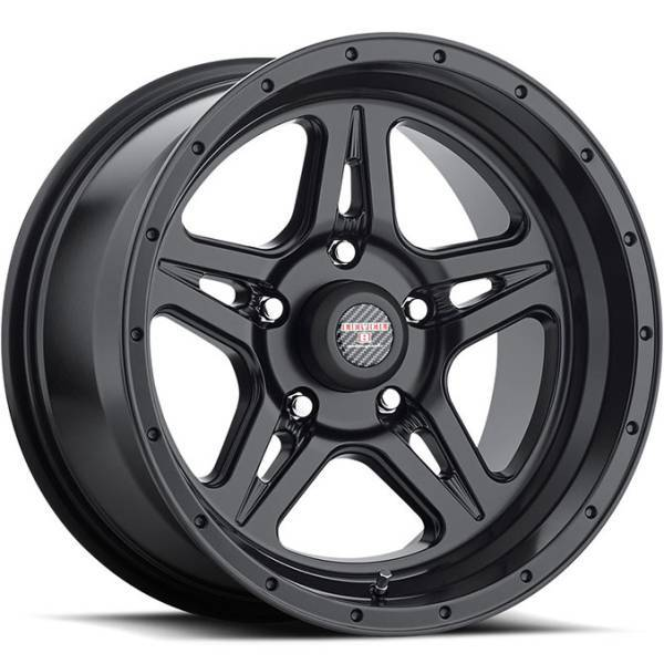 Level 8 Motorsports Strike 5 Matte Black Wheels