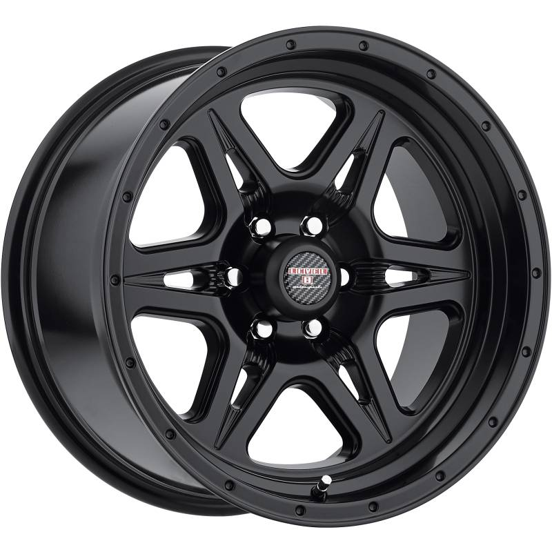 Level 8 Motorsports Strike 6 Matte Black Wheels