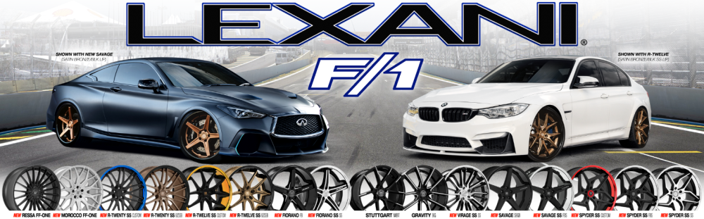 Lexani F/1 Wheels
