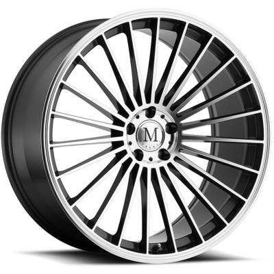 Mandrus 23 Machine Gunmetal Wheels