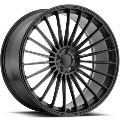 Mandrus 23 Matte Black Wheels