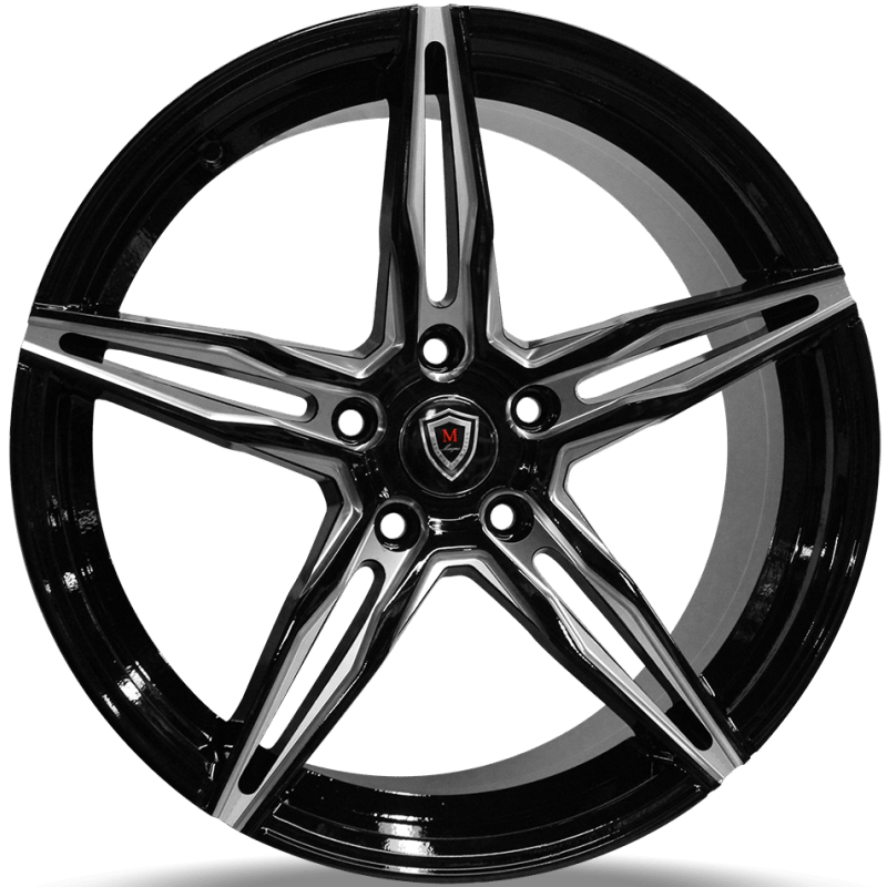 Marquee M8888 Black Milled Wheels