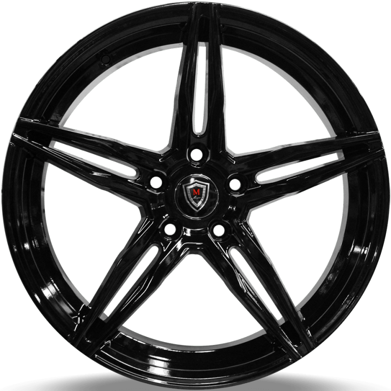 Marquee M8888 Gloss Black Wheels