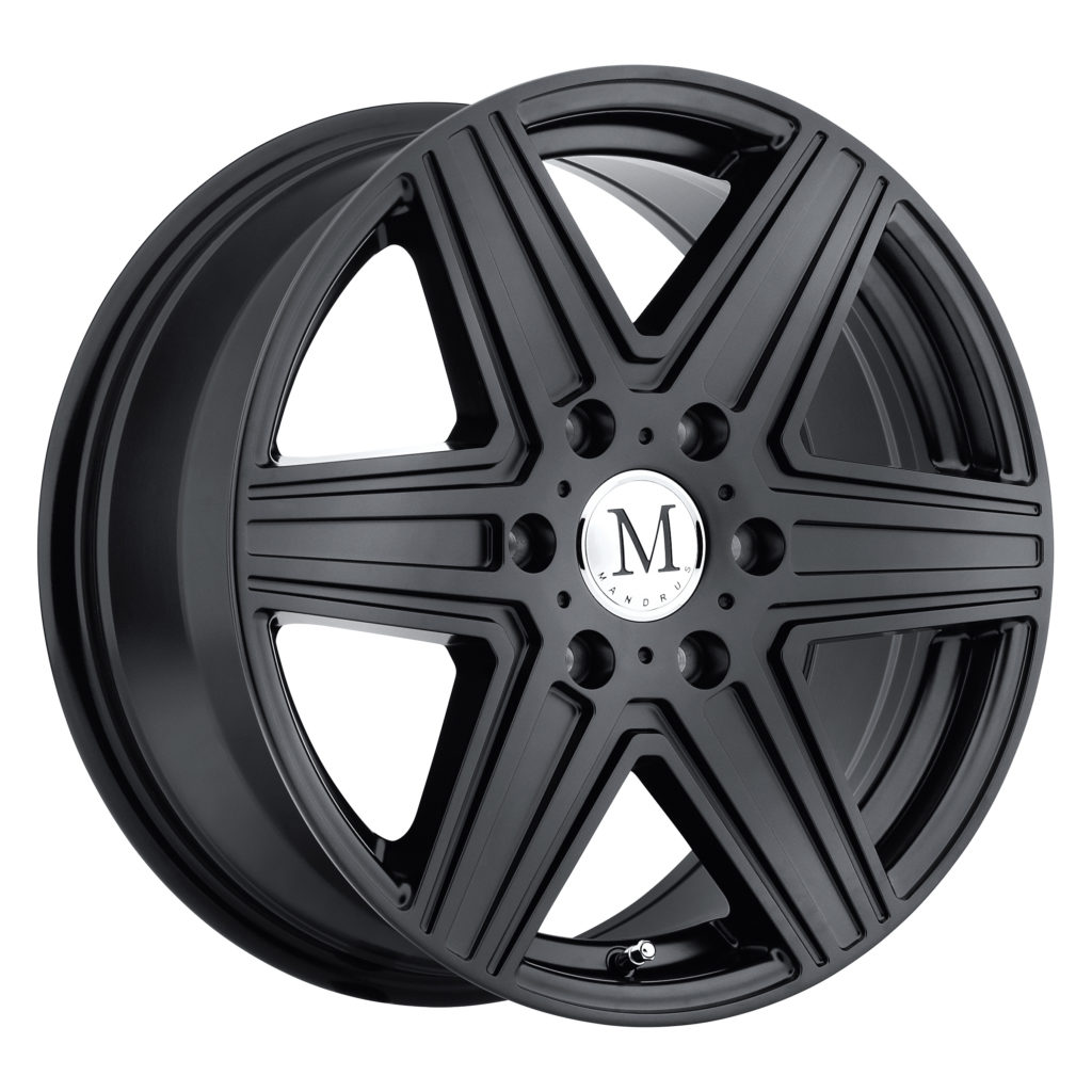 Mandrus Atlas 6 Matte Black Mercedes Wheels Rims