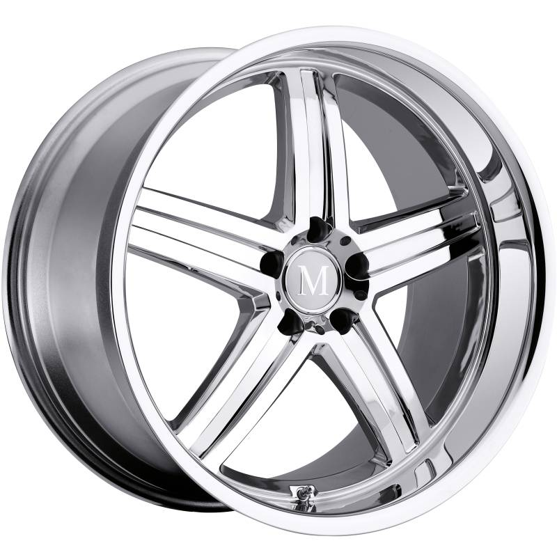 Mandrus Manheim Chrome Mercedes Wheels Rims