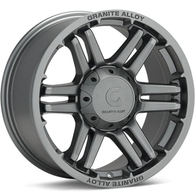 Granite Alloy GA640 Anthracite Wheels
