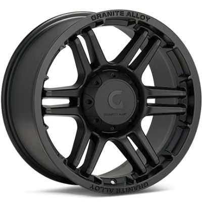 Granite Alloy GA640 Black Wheels