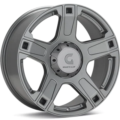 Granite Alloy GA641 Anthracite Wheels