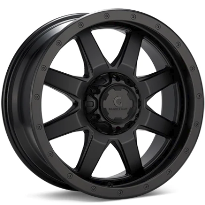 Granite Alloy GA643 Black Wheels