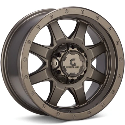 Granite Alloy GA643 Dark Metallic Bronze Wheels