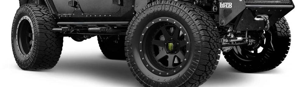 Monster Energy Edition Off Road Wheels LFTD-LVLD