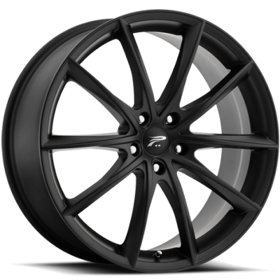 Platinum 435 Flux Satin Black