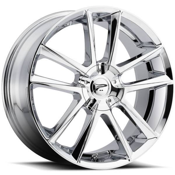 Platinum 436 Gemini Chrome Wheels