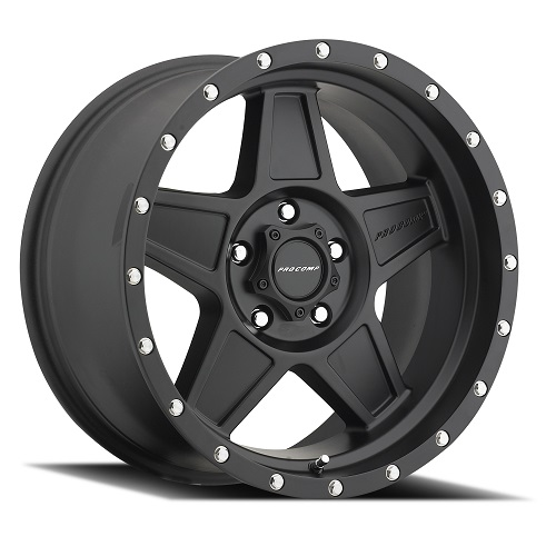Pro Comp Series 5035 Predator Black Wheels