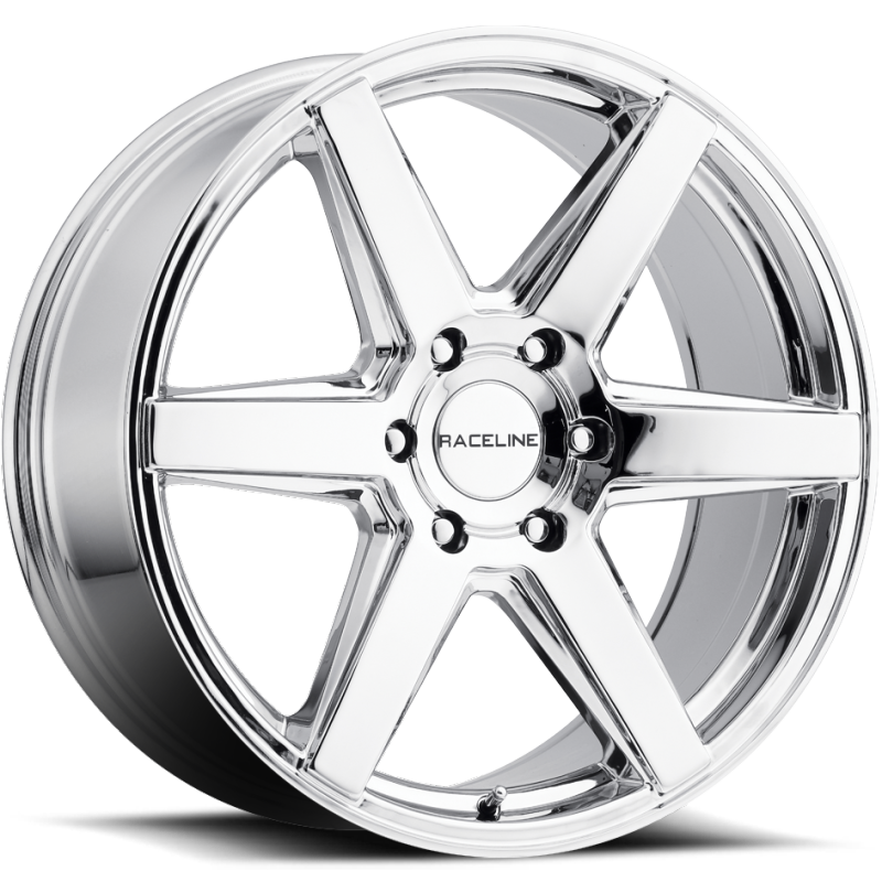 Raceline 156C Surge Chrome Wheels