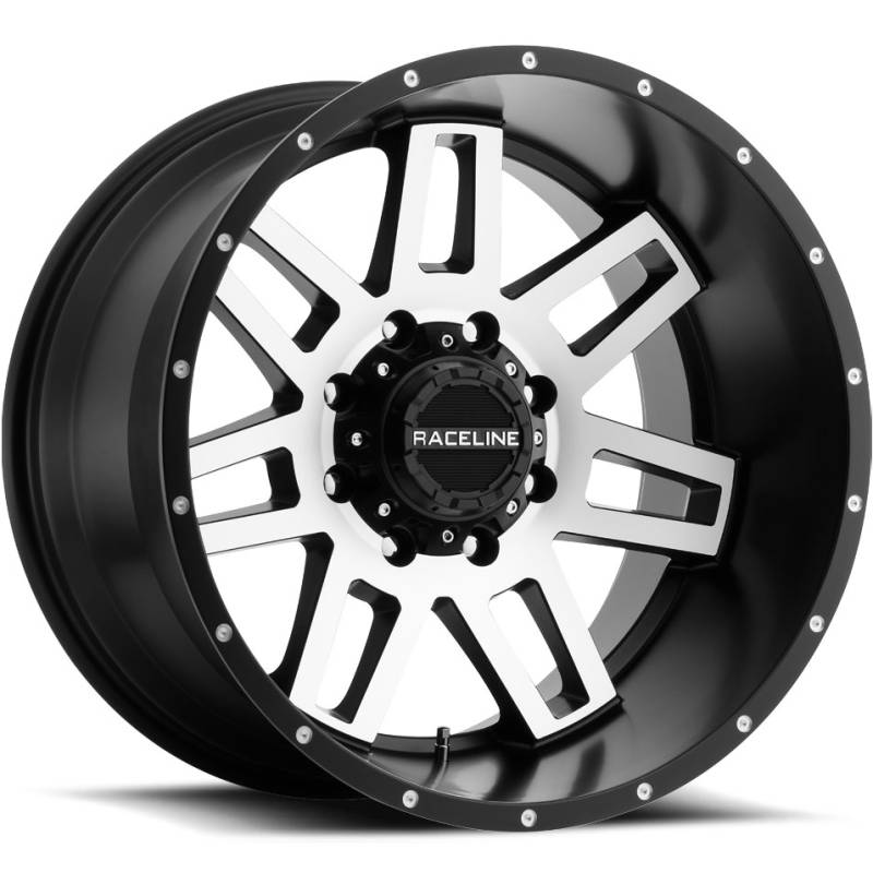 Raceline 931M Injector Machine Black Wheels