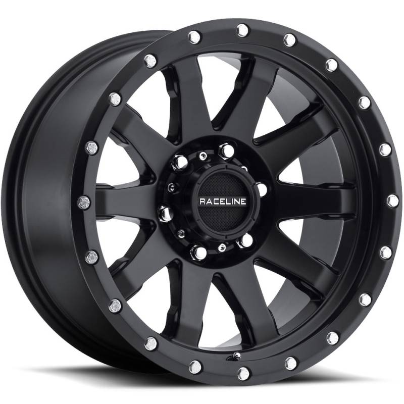 Raceline 934B Clutch Satin Black Wheels