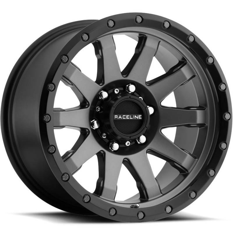 Raceline 934G Clutch Gun Metal Wheels